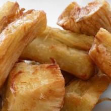 teloh,gebakken cassave,surinaamse recepten
